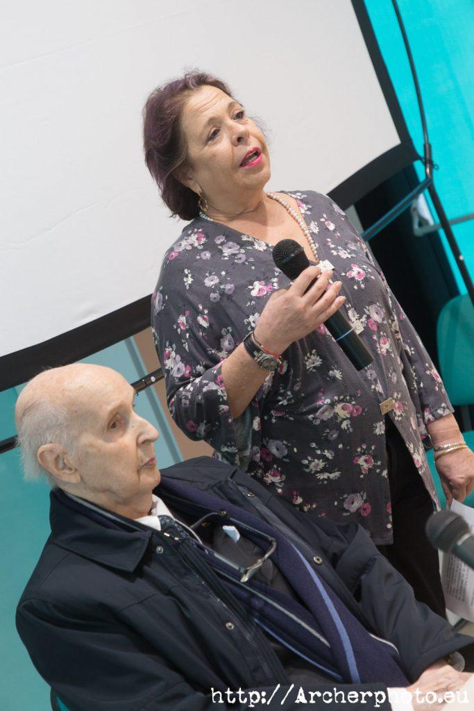 Margarita Belinchón y Santiago Grisolía, fotos de la inauguración de Hispacón 2019.